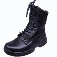 男靴作战靴训练靴马丁靴皮靴男机车靴英伦军靴男靴PX26