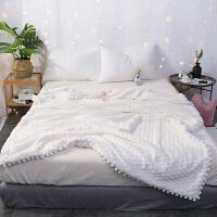 仿兔兔绒毛毯双层加厚羊羔绒毯子珊瑚绒午休小毯子