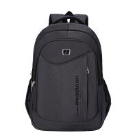 双肩包男士背包商务大容量旅行包电脑休闲时尚高中初中学生书包