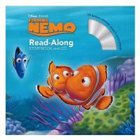 Storybook+CD Finding Nemo迪斯尼故事书+CD・海底总动员1 英文儿童故事