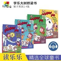 猴子男孩2-4套装3册初级章节书 Monkey Me 学乐大树Scholastic Branches 英文原版进口桥梁