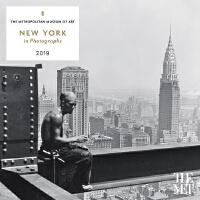 英文原版 大都会艺术博物馆 2019年挂历:摄影作品中的纽约 新年日历 New York in Photographs