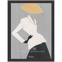 【预订】迪奥:新形象革新 原版图书Dior: The New Look Revolution