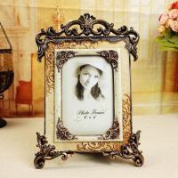 。奢华欧式相框摆台宫廷复古相架 婚纱照相架照片框相片