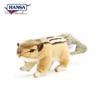 【当当自营】HANSA仿真毛绒公仔 西伯利亚金花鼠长15cm