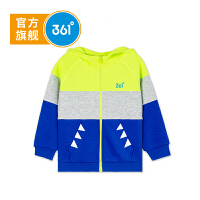 【线下同款】361度童装男小童外套秋季新款儿童开衫衣服运动上衣K51834402