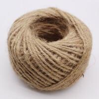 做手工的材料 带叶子的麻绳 扎花束绳子diy饰品配件缠管子的装饰