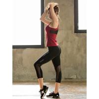 瑜伽服套装女夏季显瘦背心健身房跑步运动健身服吸汗速干瑜伽