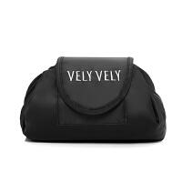 化妆包大容量简约韩国抽绳懒人化妆品收纳袋多功能便携旅行洗漱包 款式一 VELY VELY