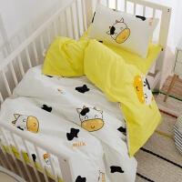 幼儿园被子三件套恐龙纯棉儿童午睡被子被罩加厚子母棉花被芯套件 其它