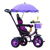 儿童三轮车自行车脚踏车宝宝玩具车/婴幼儿手推车1-3充气轮