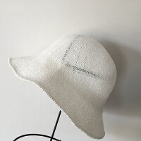 春夏帽子女士小礼帽黑色白色棉麻渔夫帽韩国潮出游防晒折叠遮阳帽