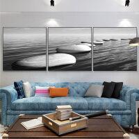 客厅大气时尚三联挂画装饰画有框画沙发后面的挂画墙画现代简约风