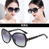 女士太阳镜 眼镜复古大框偏光墨镜潮款欧美司机驾驶镜