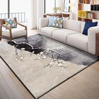 中式北欧地毯ins客厅茶几垫沙发门厅卧室家用简约现代长方形定制
