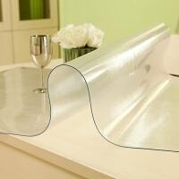 PVC桌布�玻璃磨砂透明�_布餐桌布防水防油免洗桌�|水晶板茶��| 磨砂3.0MM 不收�s