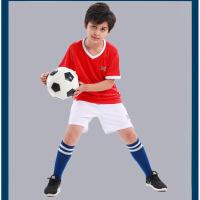 儿童足球服套装小学生球衣足球训练服定制男女童运动服队服夏