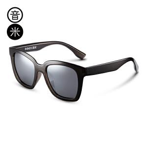 音米TR90超轻太阳镜女 圆脸偏光镜男士眼镜开车墨镜潮 AASBPB133