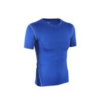 紧身衣男运动T恤短袖科比吸汗速干足球篮球健身训练弹力背心