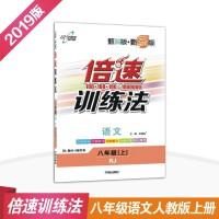 倍速训练法八年级语文人教版上册初中同步训练万向思维练习册