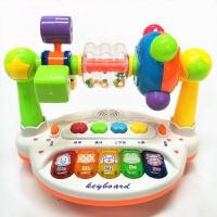 0-1-3岁益智男孩女孩玩具新生婴儿宝宝转台摇铃0-3-4-6-8-12个月 早教益智乐园