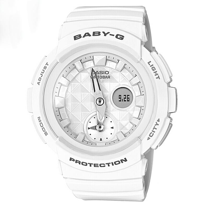 【网易考拉】【亚版】CASIO 卡西欧 Baby-G系列 女士运动腕表BGA-195-7A/BGA-195-1A(请注意:收货人姓名号码必须真实且对应,否则订单会被取消)