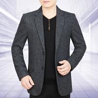 2017新款秋冬毛呢西服男士上衣韩版羊毛西装男修身款呢子