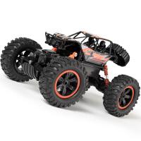 男孩玩具车遥控汽车越野车四驱充电电动高速攀爬车大脚赛车