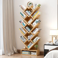 【支持礼品卡】树形书架置物架简约现代创意儿童书架储物架客厅卧室简易书架落地 i6k