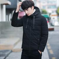 冬季外套男士棉衣韩版修身连帽棉袄2017新款加厚潮流青年装男