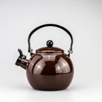 日式搪瓷水壶 凉水壶烧水壶花茶壶直型水壶 电磁炉通用