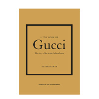 【�A�】【Little Book of】古�Y小�� Gucci�r尚品牌�l展�v史故事 英文原版
