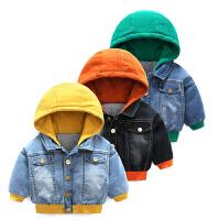 婴儿衣服秋冬季装6个月女宝宝新生儿加厚保暖外套