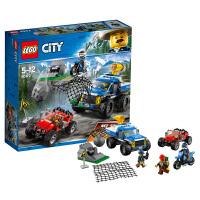 LEGO乐高城市系列 山地追击 60172 2018 1月新款