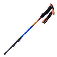 登山杖加厚碳纤维 外锁伸缩折叠男女手杖碳素拐杖正品