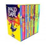 罗尔德达尔英文原版全集15册套装Roald Dahl玛蒂尔达 女巫好心眼儿圆梦巨人了不起的狐狸爸爸查理和巧克力工厂魔法