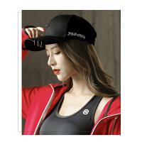 户外帽子女鸭舌帽韩版个性防晒遮太阳遮阳学生街头铁环休闲潮棒球帽