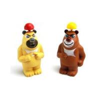 卡通熊出没迷你小风扇 电风扇 熊大熊二电池风扇
