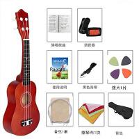 尤克里里初学者学生女纯木质手工小吉他乌克丽丽可调音可演奏