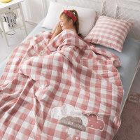 四层纱布毛巾被单双人毛毯被子空调被毯子夏季午睡薄毯夏凉被