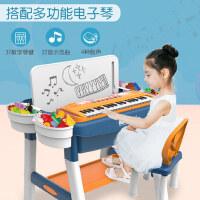 积木桌子玩具多功能拼装学习桌男女孩益智电子琴61六一儿童节礼物