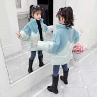 女童棉衣儿童冬装女孩中大童棉袄