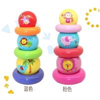 彩虹叠叠球叠叠乐手抓球婴儿球类玩具球6-12个月宝宝玩具