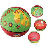 费雪卡通玩具球F0515系列6.6英寸长颈鹿狮子大象小鸡 长颈鹿 17厘米