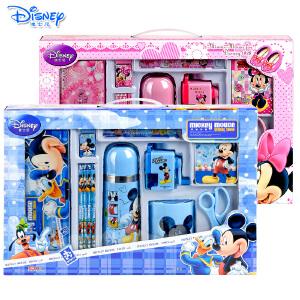 迪士尼米奇米妮小学生文具礼盒学习用品+保温杯套装组合