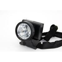 户外照明 头灯充电 远射头戴式手电筒夜钓鱼头顶矿灯 黑色