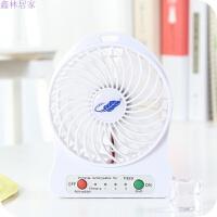 20180705204153155USB风扇迷你小电风扇便携电扇学生手持台式床上可充电随身小风扇 白色 白色