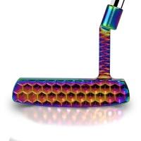 高尔夫推杆男士 七彩虹个性化 钨钢配重低重心 稳定性 天蓝色 33inch