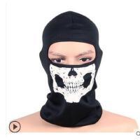 新款战术幽灵面具风帽保暖骑行面罩头套海豹骷髅头防