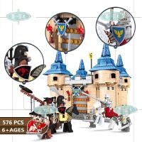 儿童大型公主城堡拼装积木玩具女孩玩具塑料拼插模型房子